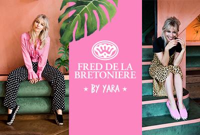 Verkrijgbaarheid Yara x Fred co-design collectie