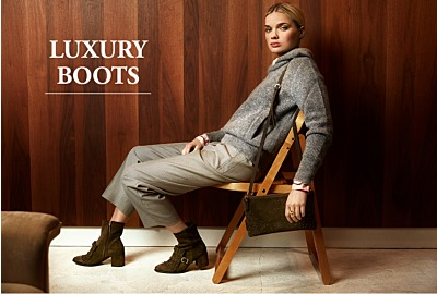 Luxury boots for fall - winter