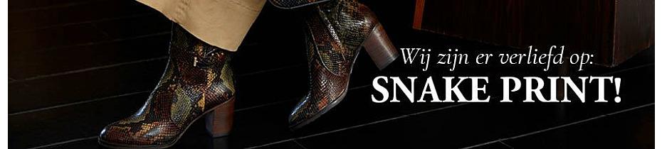 Wij zijn er verliefd op: snake print!