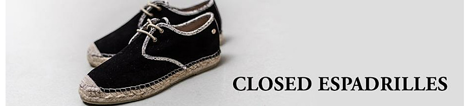 Closed espadrilles