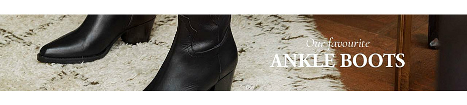 Our favourite ankle boots