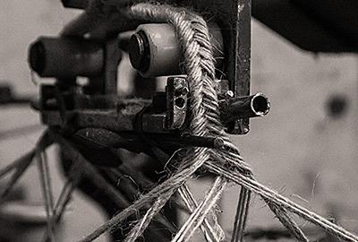 Handgemaakte espadrilles