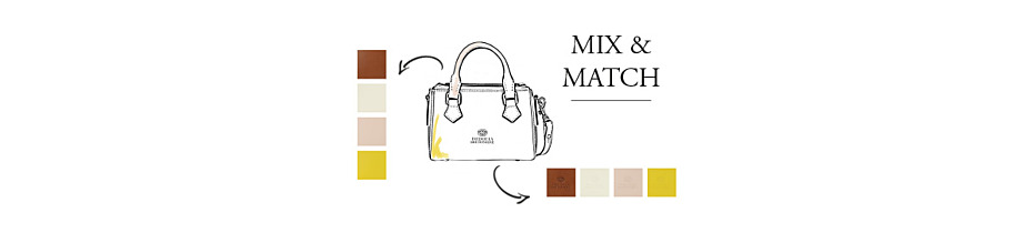 Mix & Match de limited 'Suzanna bag