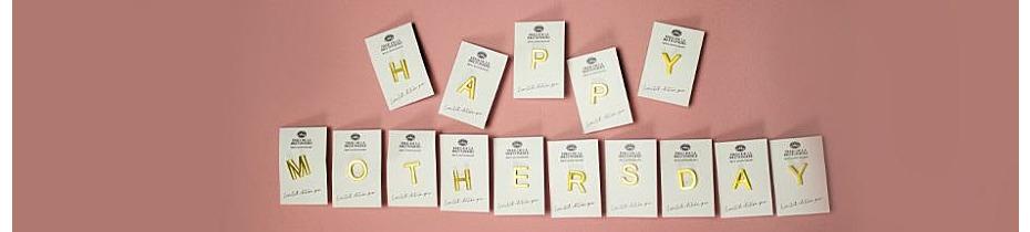 Happy Mothersday! Ontvang een gouden initiaal bij iedere bestelling!