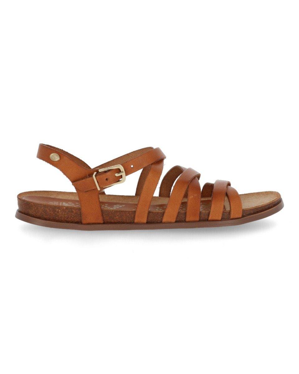 Deze sandalen van fred de la bretoniere krijgen een luxe uitstraling door het soepele leer. deze sandalen ...