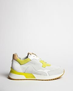 Suede-sneaker-white-and-yellow