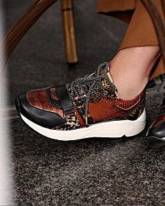 Fred-x-Lonneke-sneaker-with-snake-printed-leather-cognac