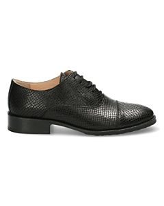 Lace-up-shoe-snake-printed-black