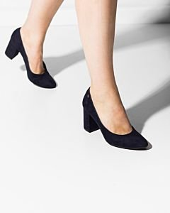 Pump-suede-dark-navy