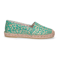 Loafer-espadrille-metallic-printed-green