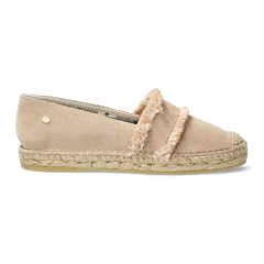 Espadrille-loafer-suede-with-fringes-Sand