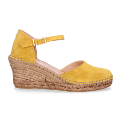 Espadrille-sandalet-suede-yellow
