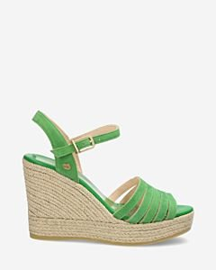 Green-suede-espadrille-wedges