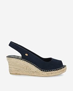 Espadrille-wedges-slingback-Dark-Blue