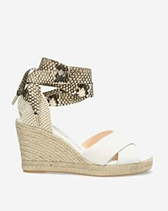 Off-white-espadrille-wedges-with-snake-print-ankle-strap