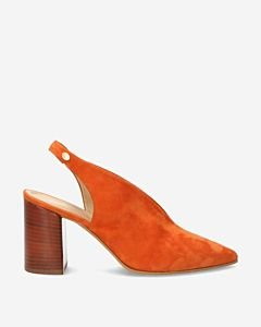 Orange-suede-slingback-heel