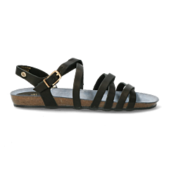 Sandal-smooth-leather-black