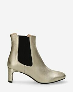 Heeled-ankle-boot-shiny-leather-gold