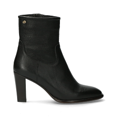 Ankle-boot-from-lizard-printed-leather-black-