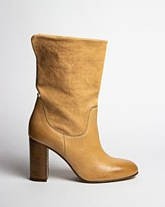 Heeled-ankle-boot-Beige