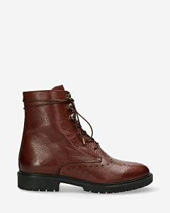 Biker-boot-soft-smooth-leather-brown