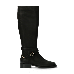 Tall-shaft-boot-from-smooth-leather-black