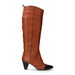 Fred-x-Lonneke-boot-soft-grain-leather-cognac