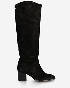 Boot-waxed-suede-black