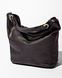 Shoulderbag-smooth-leather-black