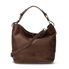 Shoulderbag-smooth-leather-light-brown