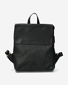 Backpack-waxed-smooth-leather-black