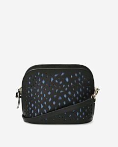 Zwarte-crossbody-tas-geperforeerd-slangenprint
