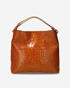 Shoulder-bag-crocodile-cognac