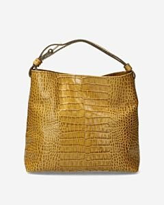 Shoulder-bag-crocodile-olive-green
