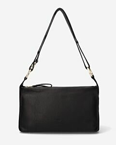 Crossbodytas-glad-leer-zwart-