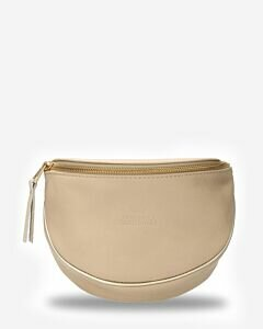 Crossbodytas-glad-leer-beige