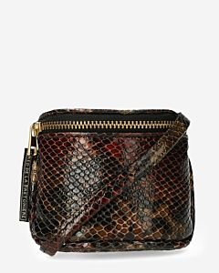 Small-shoulderbag-shiny-printed-leather-brown