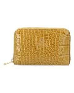 Wallet-croco-patent-leather-olive