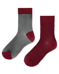 Transparant-Filipa-Nylon-ankle-socks-Bordeaux