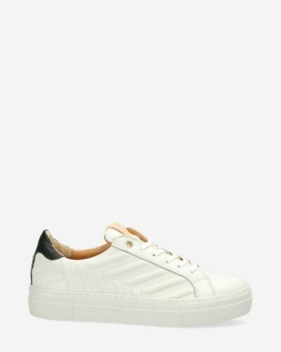 Sneaker smooth leather off white