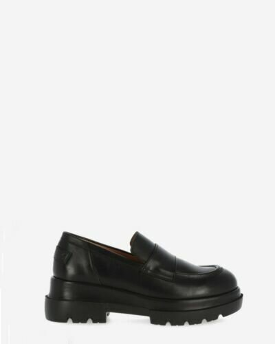 Loafer smooth leather black