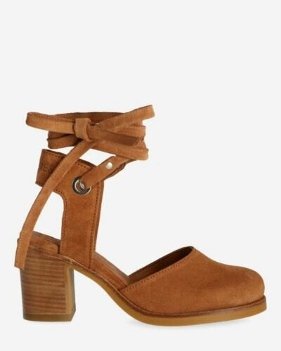Light brown sandalet with leather straps