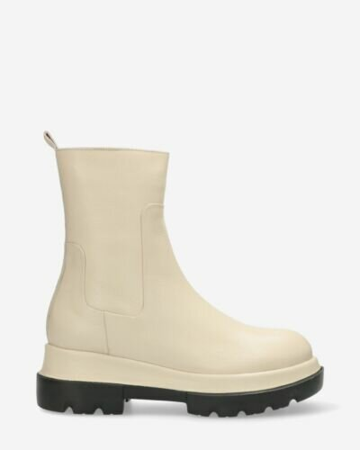 Ankle boot Miki off white