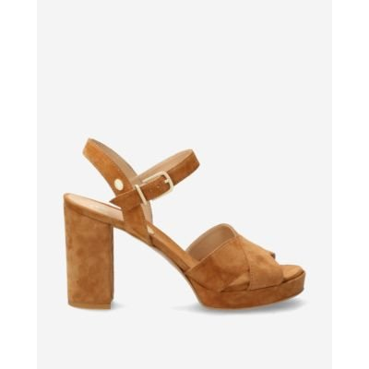 Bruine-suède-sandalet
