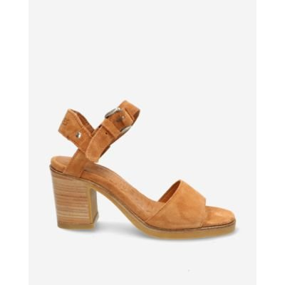 Light-brown-suede-strappy-sandal