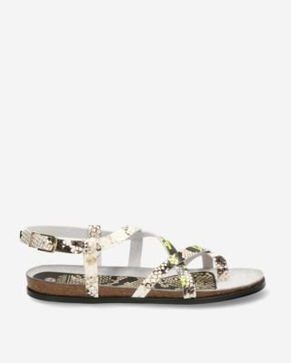 Sandal-python-with-neon-yellow