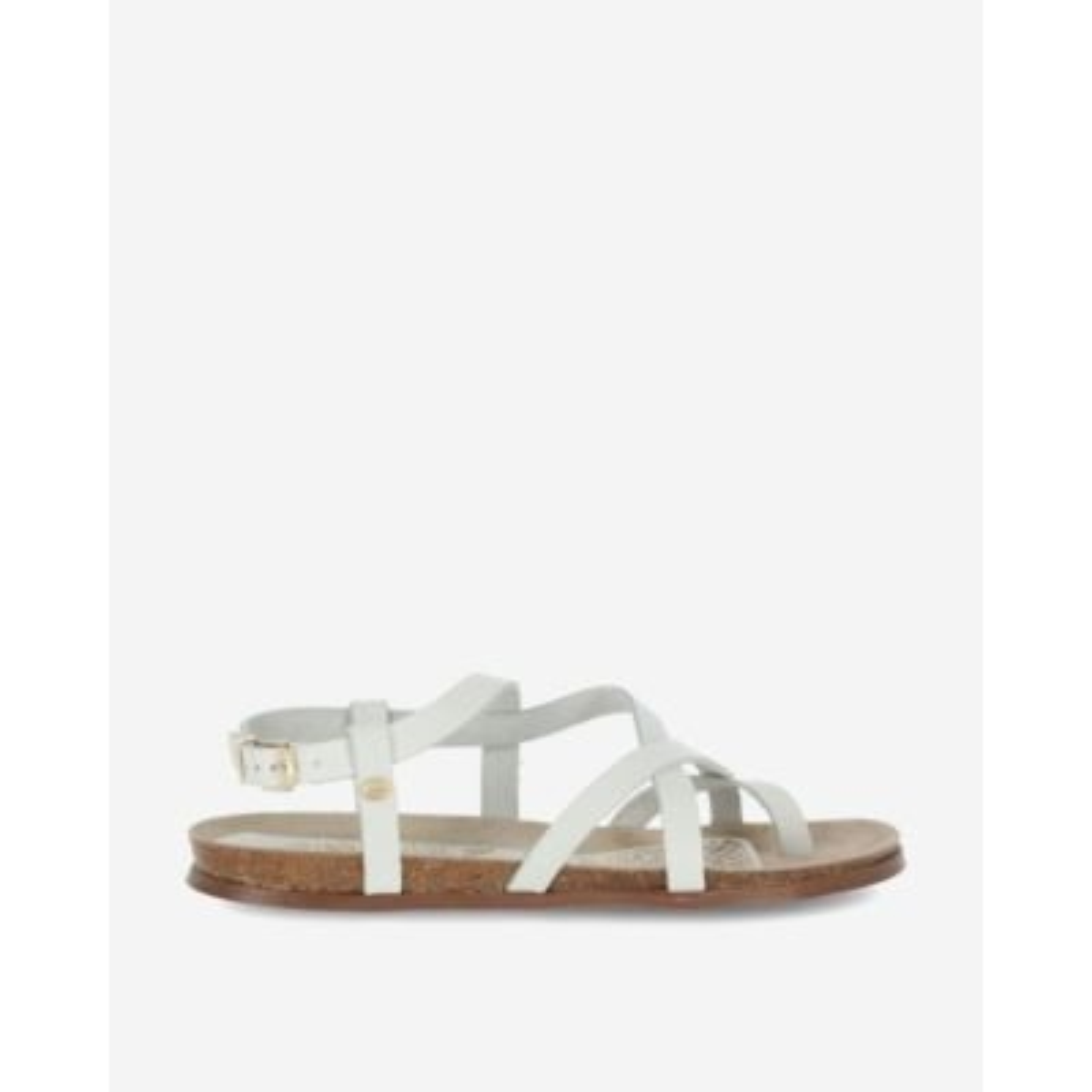 Witte-sandaal