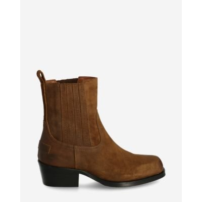 Chelsea-boot-waxed-suede-brown