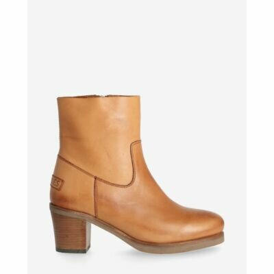 Heeled-ankle-boot-soft-smooth-leather-light-cognac