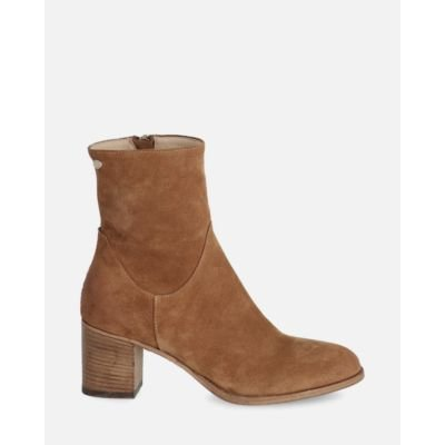 Heeled-ankle-boot-suede-cognac